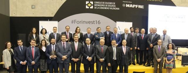 Premios a la Excelencia en el Foro Internacional del Seguro (Forinvest) VALENCIA 10-03-2016