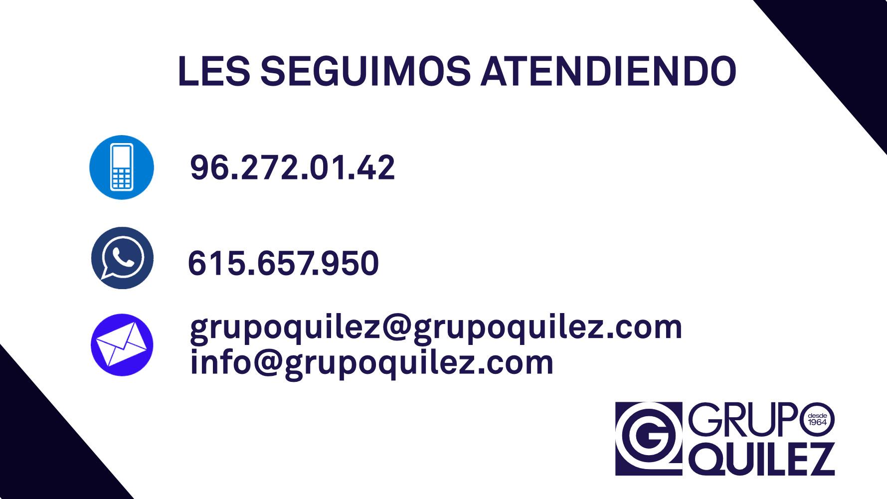 Grupo Quílez habilita nuevas vías de comunicación ante la crisis del coronavirus